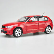 1/18 Kyosho BMW One series 120i Diecast Car Model Collection Red Hatchback