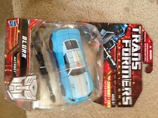 Transformers Blurr Generations Botcon signed by G1 animated John Moschitta