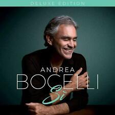 ANDREA BOCELLI   Si  (CD DELUXE EDITION 2018) 4 BONUS TRACKS NEW