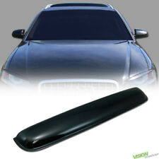980MM Smoke Sun/Moon Roof Top Window Sunroof Visor Vent Rain/Wind Deflector Va7