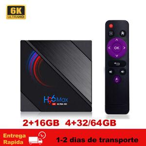 H96MAX H616 TV Box Android 10.0 Allwinner 2.4G/5G Wifi BT 4.0 6K 3D Mini H96 MAX