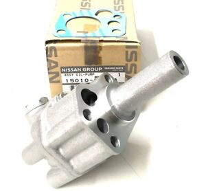 Genuine Nissan 280ZX Turbo Oil Pump & FREE GASKET - For Datsun S30 240Z L24