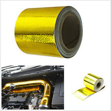 "High Quality Car SUV 2""x33'1200°f Continuous Heat Shield Wrap Tape Self Adhesive"