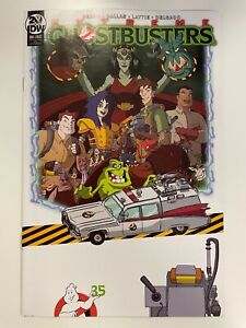 IDW GHOSTBUSTERS 35TH ANNIVERSARY EXTREME : IDW CONVENTION COVER : HTF! : NM