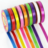 25 metres Wedding Christmas Thin Grosgrain Ribbon -12mm Widths Various Colours