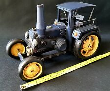 Rare Large Antique Vintage Metal Lanz Bulldog Early Farming Tractor Scale Model