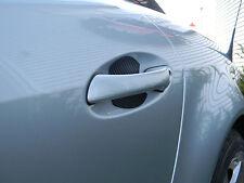Carbon Fiber Auto Accessory Car Door Handle Scratch Guard Fits Ford Fiesta 4pcs