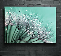 Glass Picture Wall Art Canvas Digital Print Photo Night Water Reflection p26510