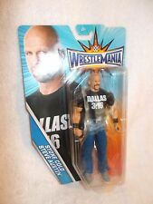WWE Action Figure Wrestlemania Series Stone Cold Steve Austin