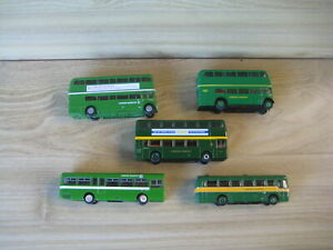LONDON  COUNTRY BUSES  5 LOOSE Models  EFE/BritBus 1/76 (lot G1) Post Incl.