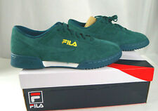 Men's Fila Original Fitness Lineker Casual Sneaker Shoes Suede Size 10 1/2