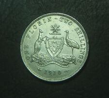 1910 Australian Florin