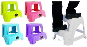 KIDS CHILDREN STEP STOOL TOILET POTTY TRAINING KITCHEN BATHROOM GARAGE ANTI SLIP