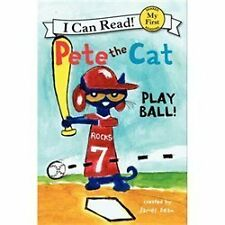 Pete the Cat: Play Ball! (My First I Can Read), Dean, James, 0062110667, Book, G