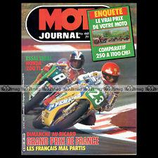 MOTO JOURNAL N°461 JEAN-FRANCOIS BALDE BARRY SHEENE KAWASAKI Z750 MORBIDELLI '80