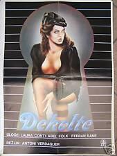 L'ESCOT-LAURA CONTI/CARME CALLOL-YUGO MOVIE POSTER 1987