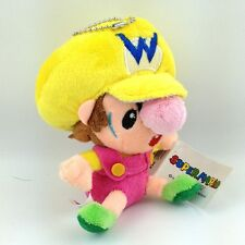 "Baby Wario Super Mario Bros Yoshi's Island DS Plush Toy Yellow Stuffed Animal 5"""
