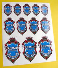 TRIUMPH Style Vintage Cycle Cadre Vélo Autocollants Stickers