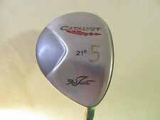 "41 1/2"" Bob Toski Catalyst 21 Degree #5 Wood. Tour Touch Custom Steel Shaft."