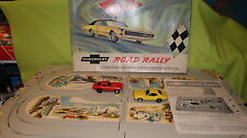 CHEVROLET TOY RACE SET 1967 ROAD RALLY 1967 CAMARO 1967 CORVETTE PLASTIC CARS
