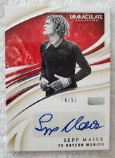 2020 Immaculate Soccer Ink Autographs Auto Sepp Maier #/99