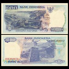 Indonesia 1000 Rupiah, 1992, P-129, UNC