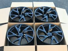 "19"" Nissan 370Z Forged Rays OEM FACTORY Black Wheels Rims"