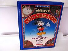 First Edition Disney's Art of Animation Mickey Mouse to Beauty and the Beast HC