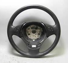 BMW E90 E91 3-Series Factory Heated Multifunction Steering Wheel Leather 06-12