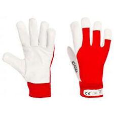 ROBOD 12 Paar KOZA Ziegenlederhandschuh Handschuhe Freizeit Garten Größe 8 / M