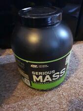 Optimum Nutrition Serious Mass Gainer 2.72kg Vanilla - Brand New Unopened
