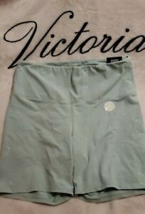 New Victoria's Secret PINK L Cotton HighWaist Bike Short  Large Tie Dye distress