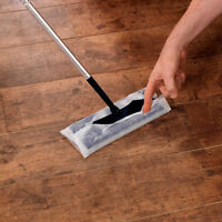60 x Electrostatic Wooden Floor Duster Cleaning Mop Refill Wipes 3x20 Refills