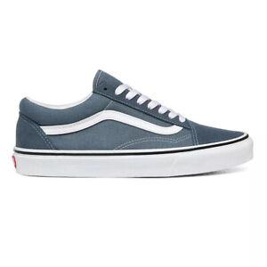 Unisex Vans Old Skool Shoes Trainers Canvas Suede Blue Mirage VN0A4U3BX17