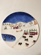 "Bath & Body Works ""Grandma Beaty Art"" 10"" Handcrafted Plate - 1998"