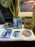 Amped: Freestyle Snowboarding (Xbox, 2003) + BONUS EXTRA 2in1 Game BUNDLE Lot