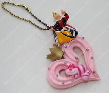Rare 2010 Re-ment Disney Alice in Wonderland Cheshire Cat Heart Queen pendant