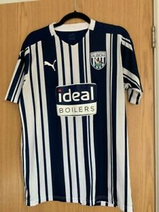 West Bromwich Albion Puma Home shirt 2020/21 Size Large Mens West Brom