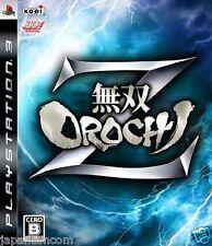 Used PS3 Musou Orochi Z SONY PLAYSTATION 3 JAPAN JP JAPANESE JAPONAIS IMPORT