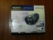 New in Open Box - Sony Handycam HDR-CX130 HD Camcorder - BLACK - 027242820166