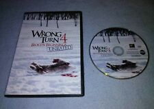Wrong Turn 4: Bloody Beginnings UNRATED DVD *RARE
