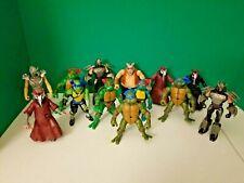 Teenage Mutant Ninja Turtles Action Figure Lot Original Modern 13 Figures!!!