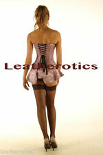Satin Plus Size Basques & Corsets for Women