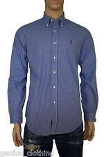 Polo Ralph Lauren Fine Gingham Soft Cotton Button Down Shirt RRP £85, Medium