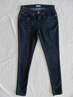 Eileen Fisher Skinny Jeans Stretch-Organic Cotton-Washed Indigo-Size 0-NWT $178