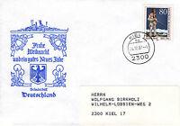 Schiffspost Schulschiff Deutschland Weihnachten 1987