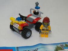 Lego City 4427 Feuerwehr Quad komplett mit Anleitung OBA
