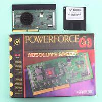 PowerLogix PowerForce G3 PCI 300Mhz/512 CPU Apple Power Macintosh 7600 8600 9600