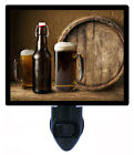 Bar and Kitchen Decorative Photo Night Light, Beer and Keg, Bottle