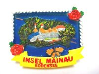 Bodensee Insel Mainau Magnet Poly 7 cm Germany Souvenir (383)